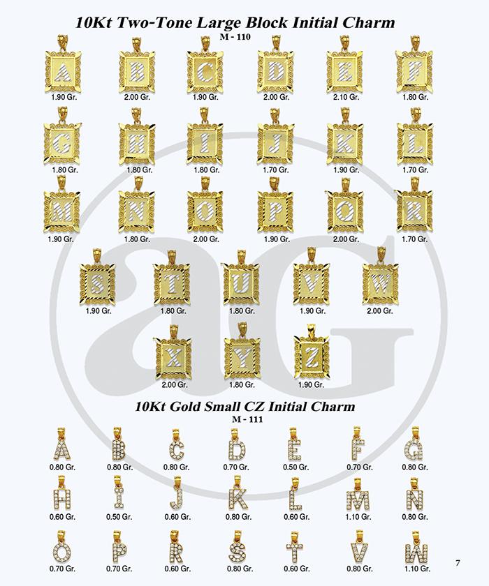 10kt Gold Initials Catalog-7