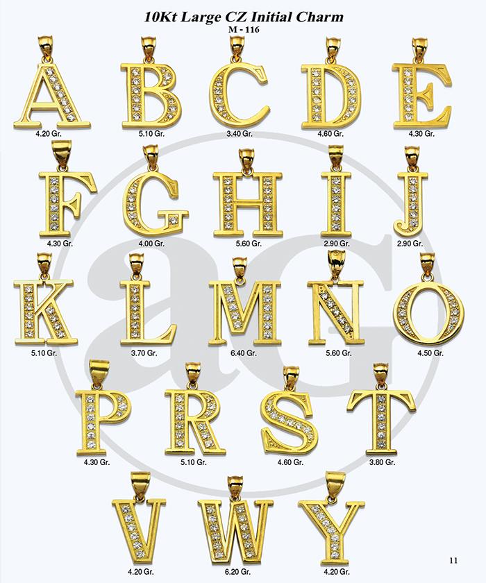 10kt Gold Initials Catalog-11