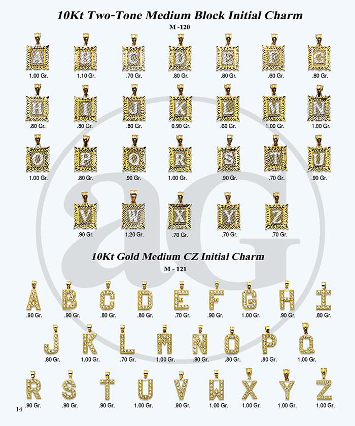 10kt Gold Initials Catalog-14