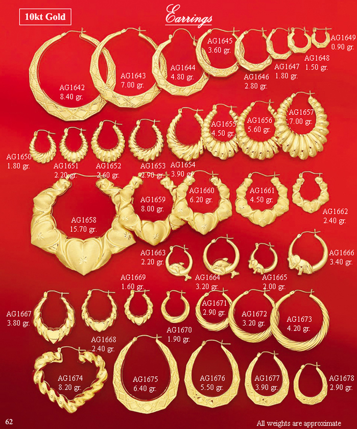 Page 62<br>Fancy Earrings