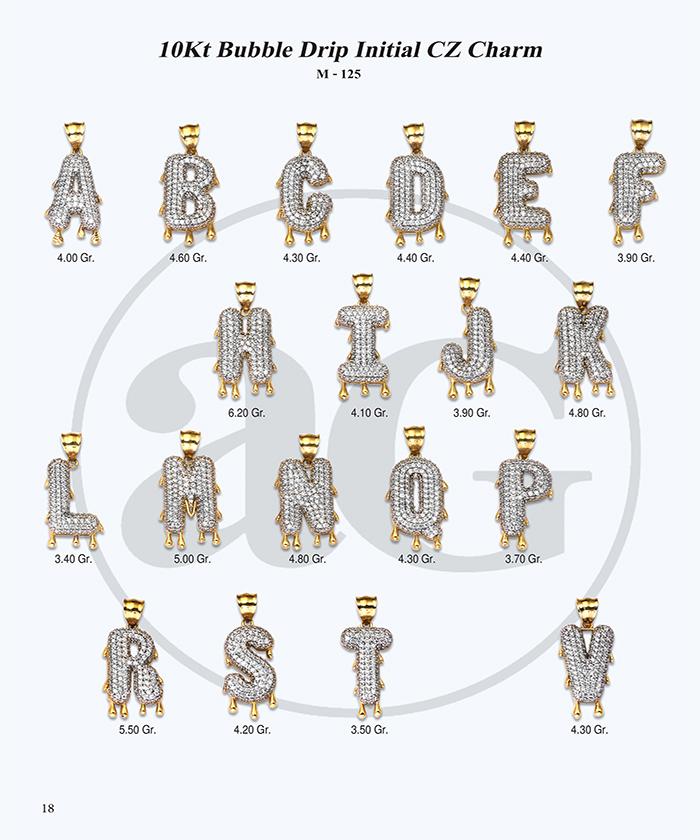 10kt Gold Initials Catalog-18