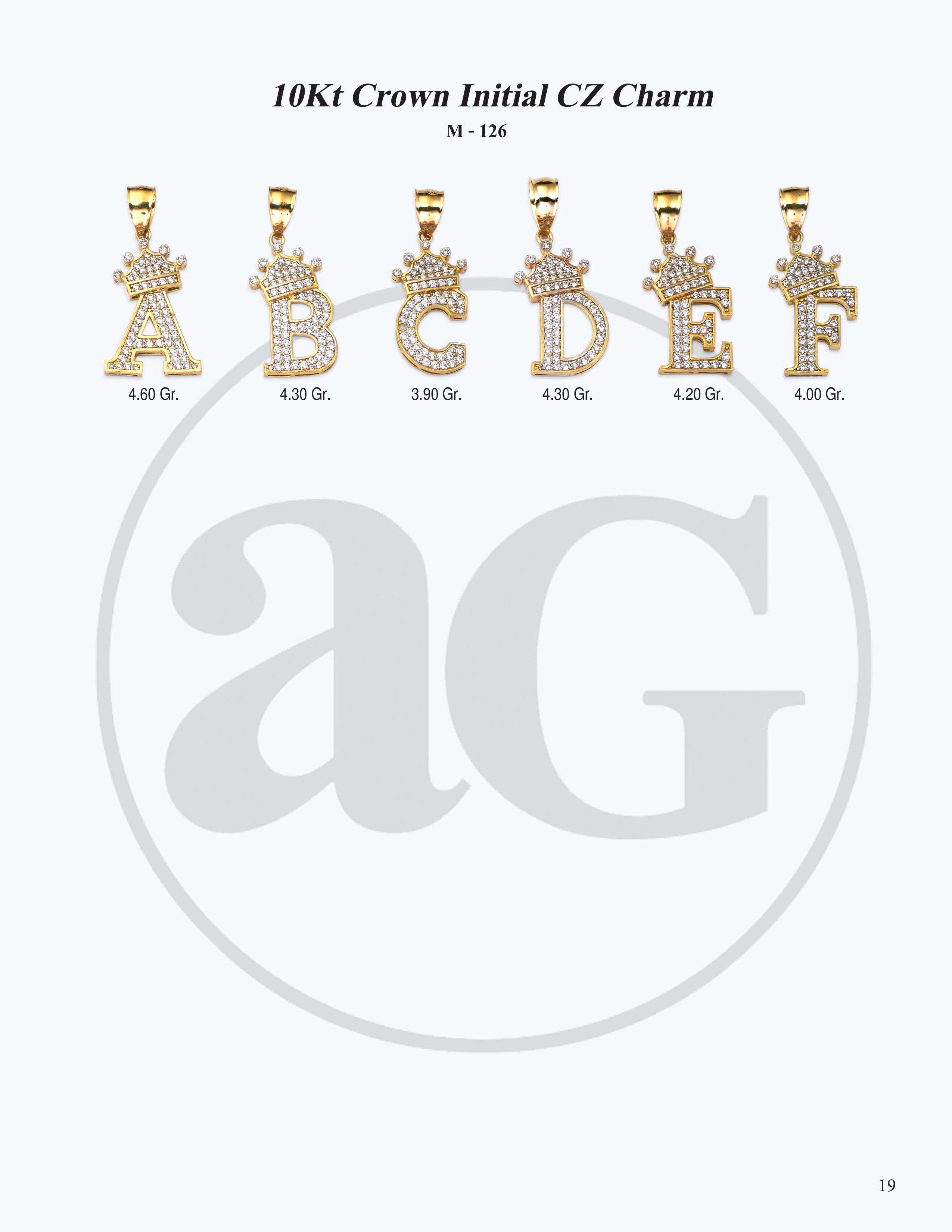 10kt Gold Initials Catalog-19
