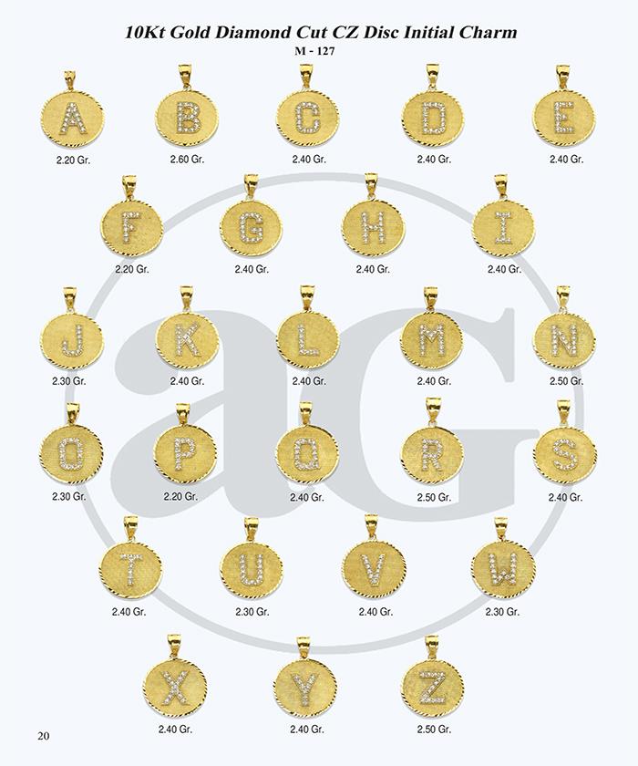 10kt Gold Initials Catalog-20