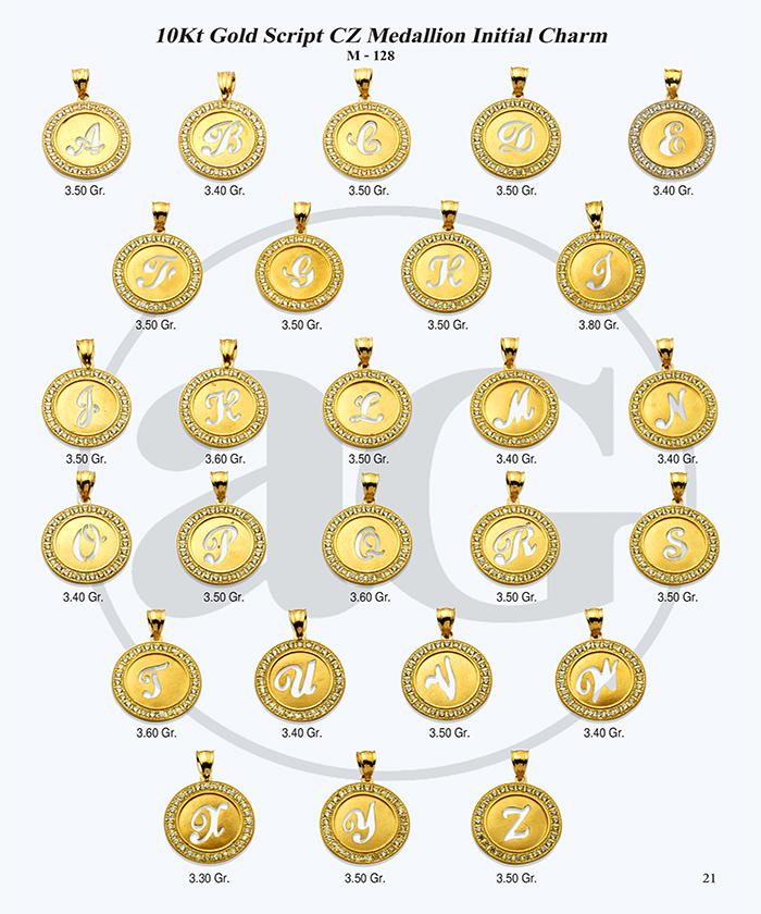 10kt Gold Initials Catalog-21