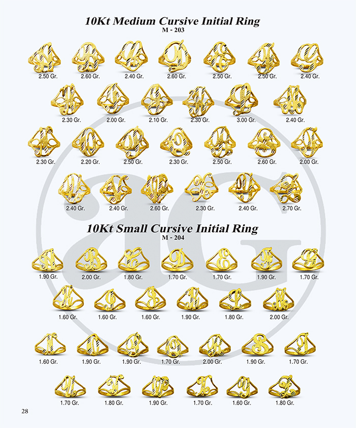 10kt Gold Initials Catalog-28