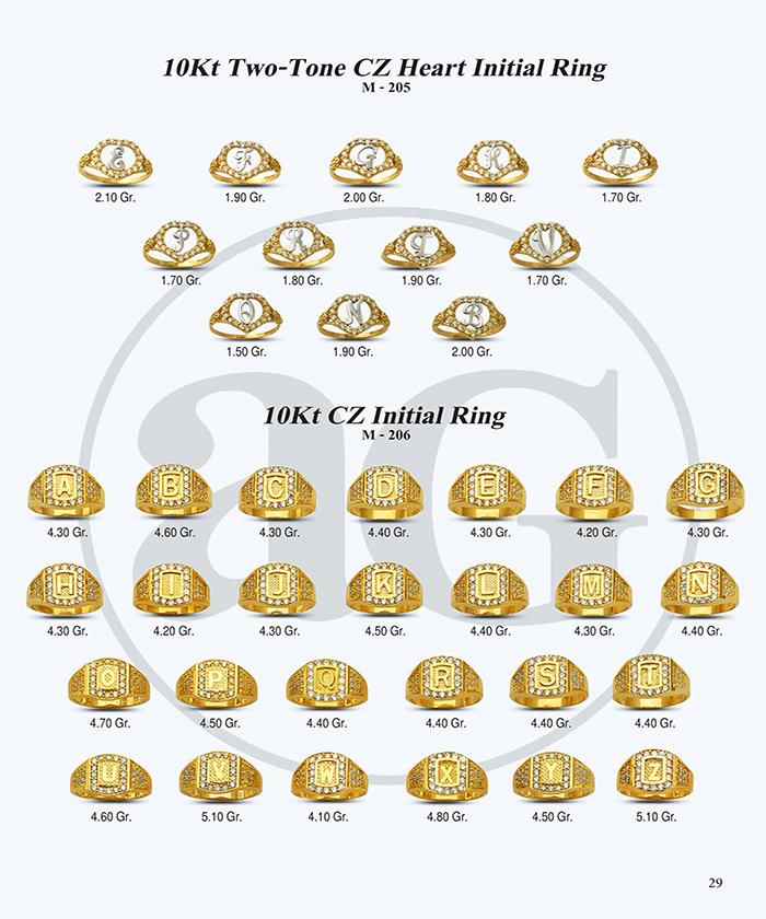 10kt Gold Initials Catalog-29