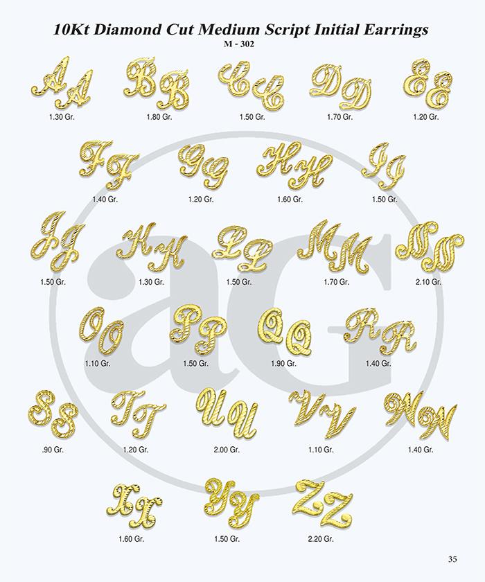 10kt Gold Initials Catalog-35