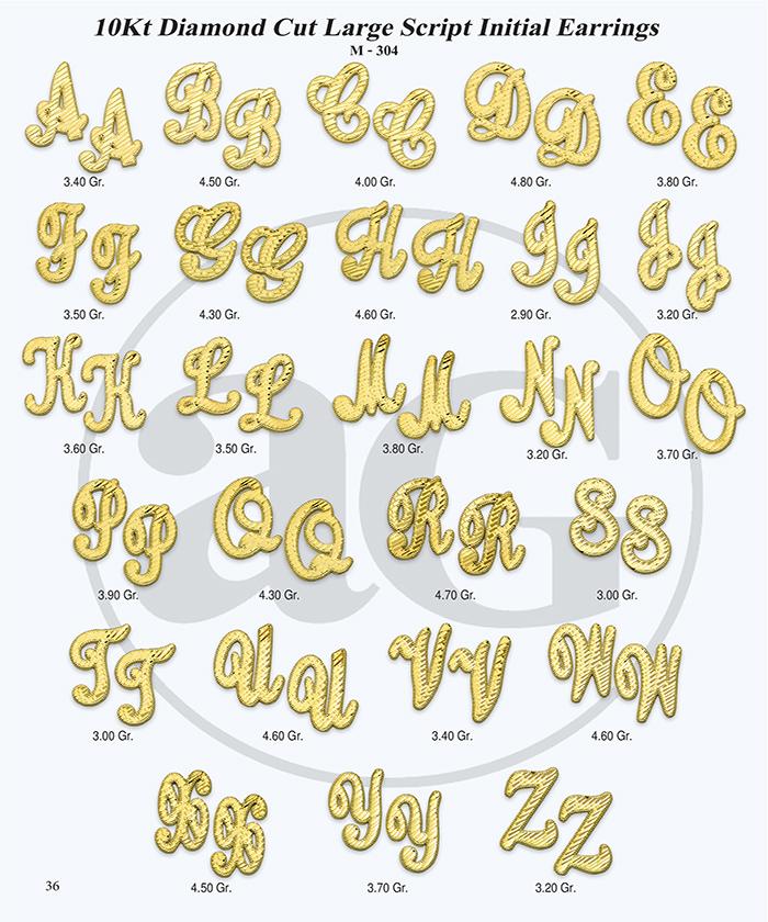 10kt Gold Initials Catalog-36