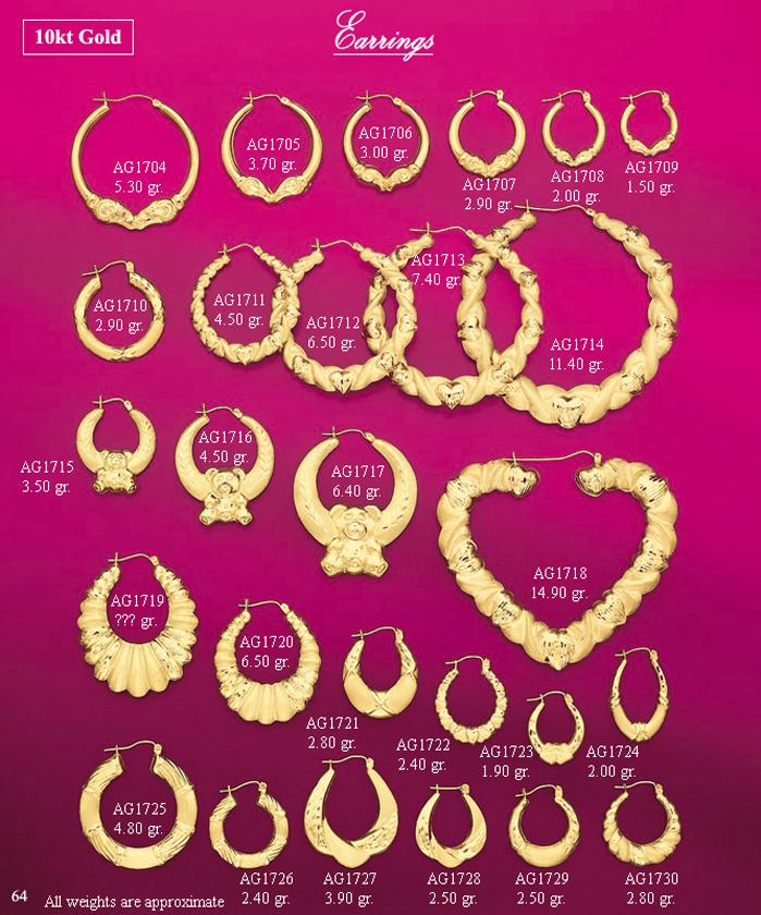 Page 64<br>Fancy Earrings