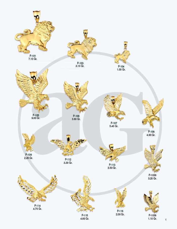 10kt Gold Charms Catalog-1
