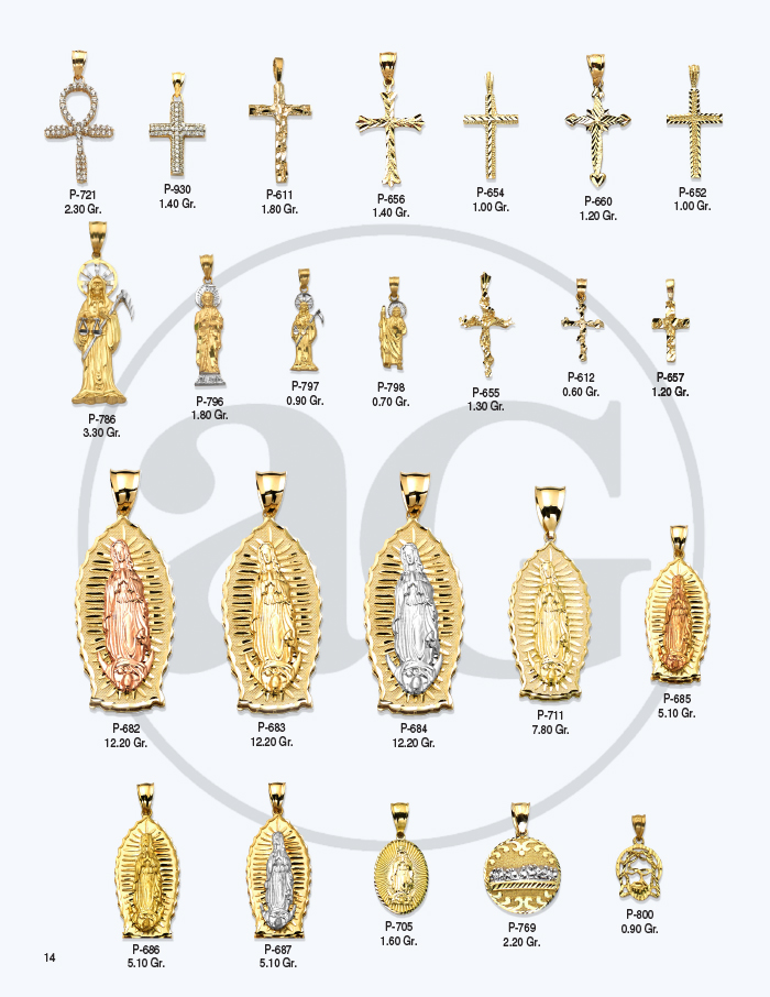 10kt Gold Charms Catalog-14