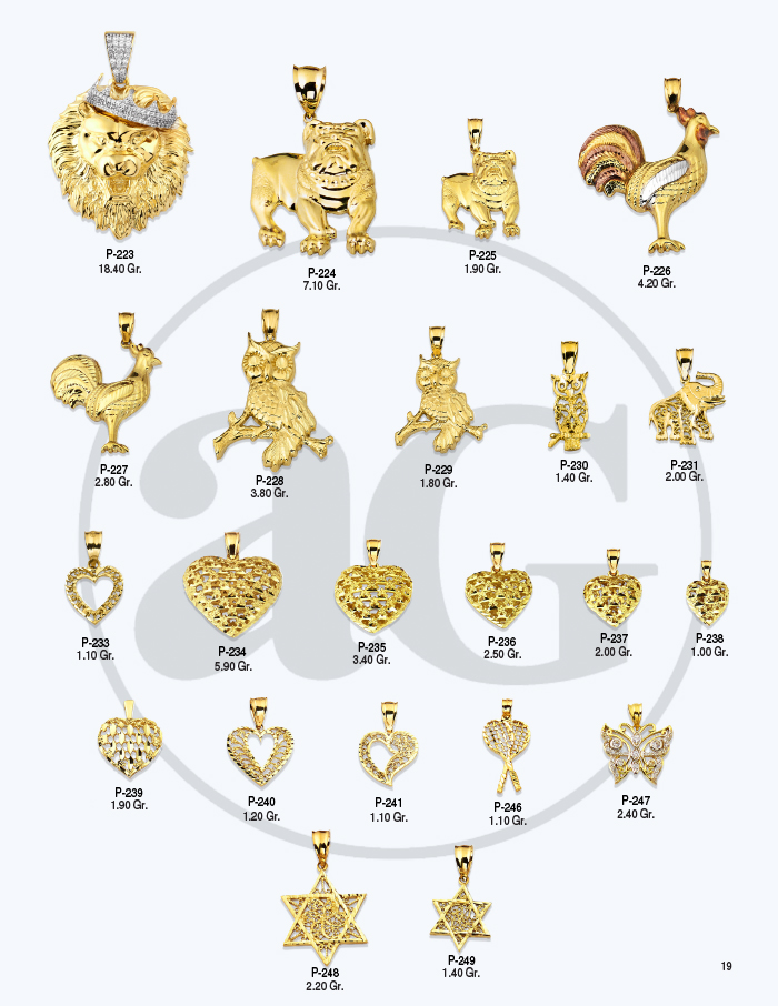10kt Gold Charms Catalog-19
