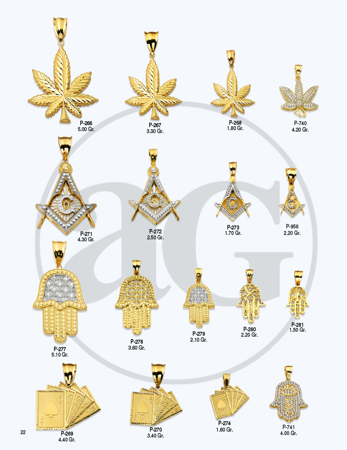 10kt Gold Charms Catalog-22