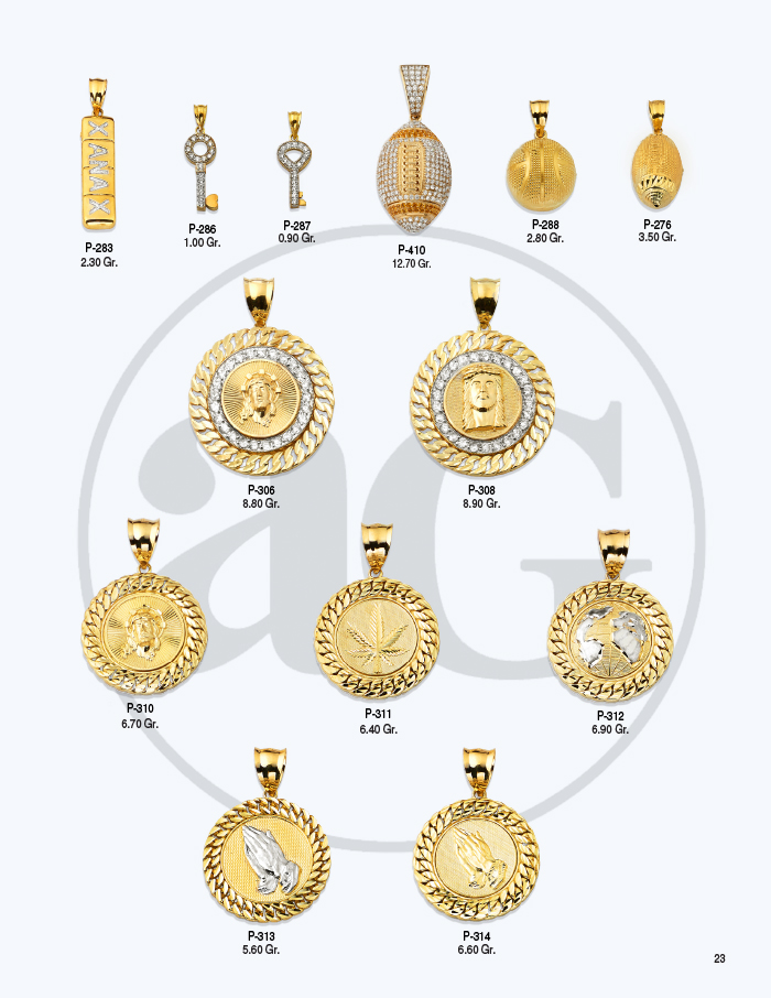 10kt Gold Charms Catalog-23