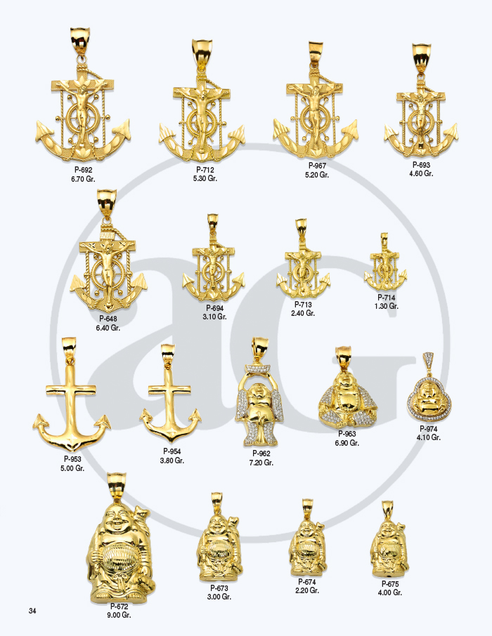 10kt Gold Charms Catalog-34