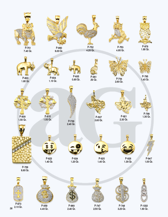10kt Gold Charms Catalog-38