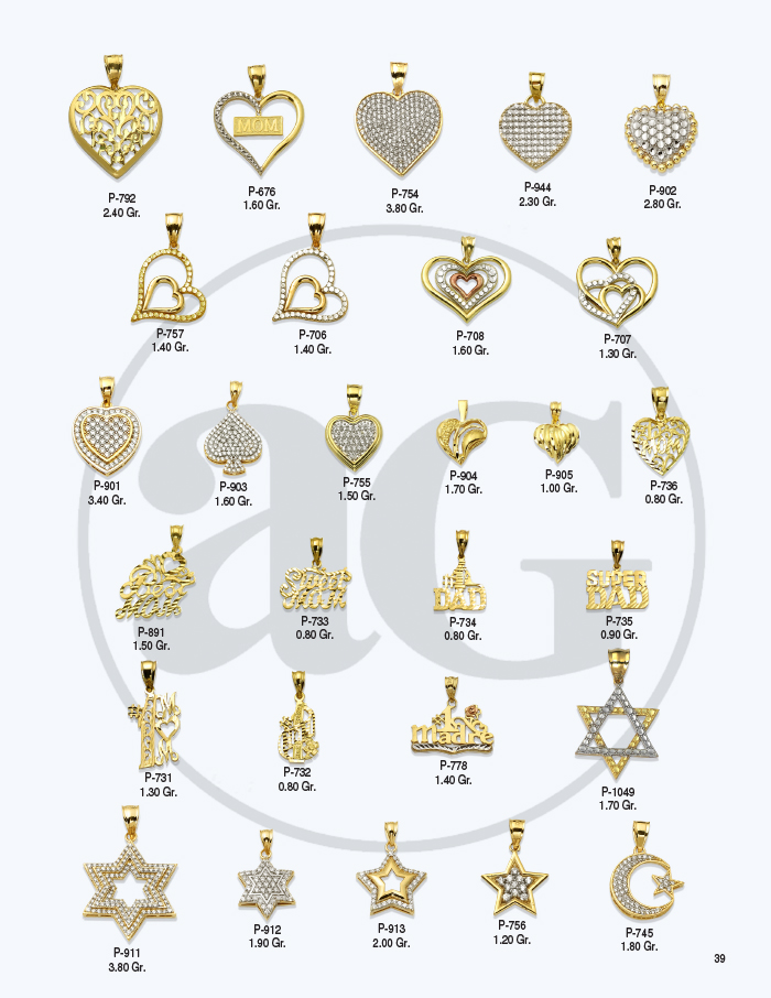10kt Gold Charms Catalog-39