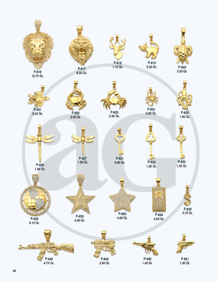 10kt Gold Charms Catalog-40