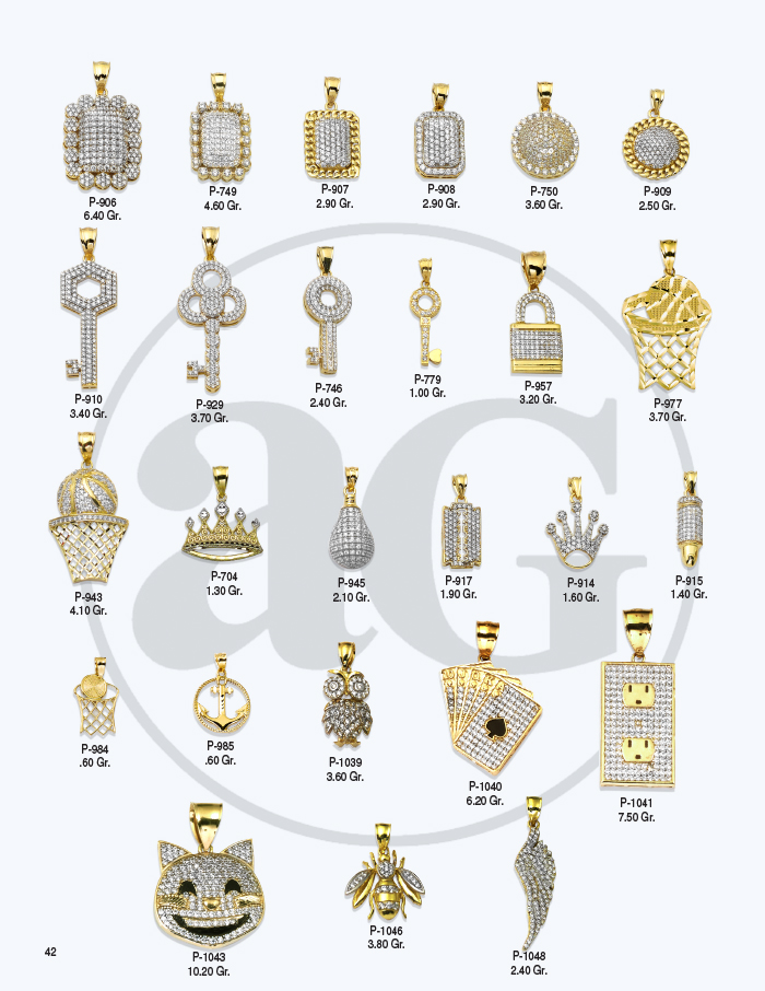 10kt Gold Charms Catalog-42