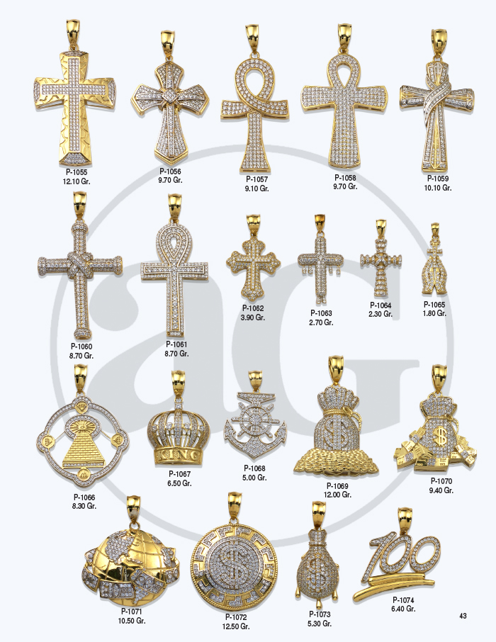10kt Gold Charms Catalog-43