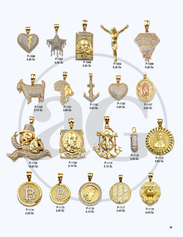 10kt Gold Charms Catalog-45
