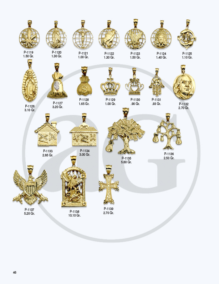 10kt Gold Charms Catalog-46