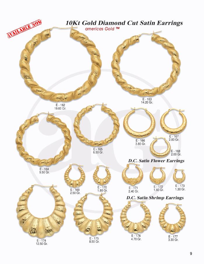 10Kt Earrings Catalog- 9