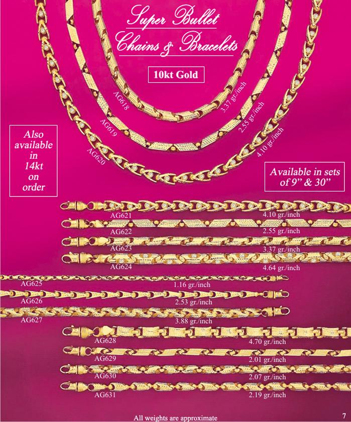 Page 7<br>Super Bullet Chains & Bracelets