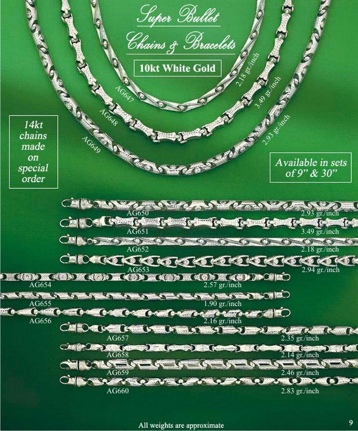Page 9<br>Super Bullet Chains & Bracelets