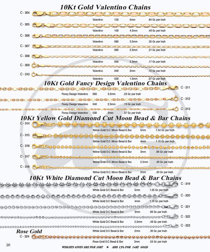 Page 20 - Valentino & DC Moon Bead & Bar Chains