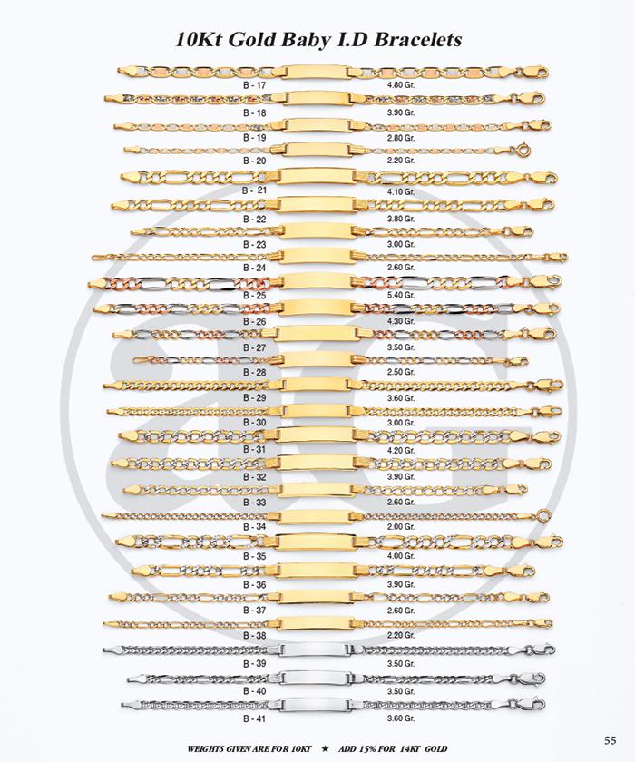 Page 55 - 10Kt Baby I.D. Bracelets 6