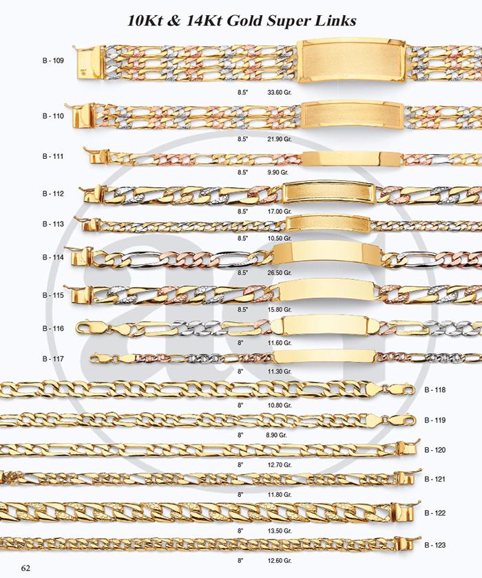 Page 62 - 14Kt & 10Kt Super Links